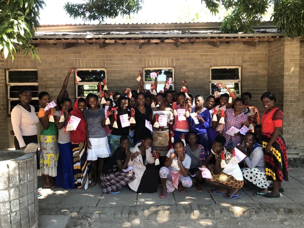 Pupils at Likoma Secondary School