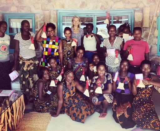Female staff at Kaya Mawa